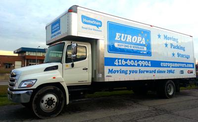 Europa Moving & Storage Toronto - Toronto Movers